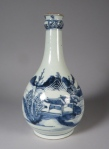 Blue and white gauglet canton 1790