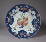 Chinese Imari plate 1735