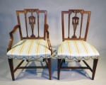 Set of six 6 dining chairs 1810