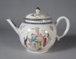 Famille rose teapot 1760